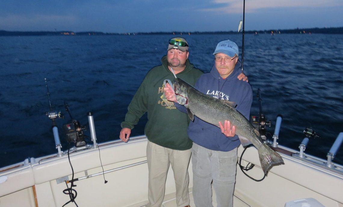 Lake Michigan Fishing Call 231-510-9345